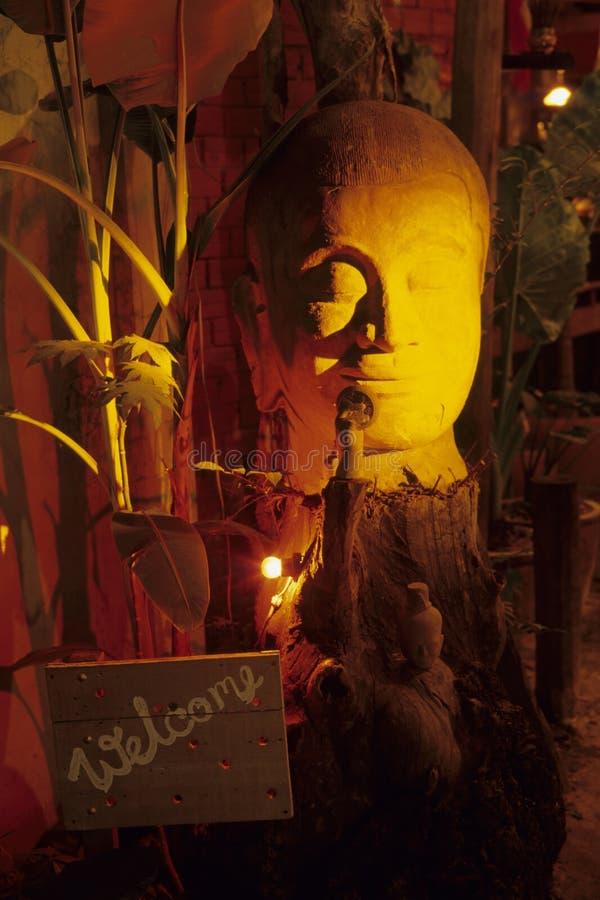 Restaurante Cambodia fotos de stock