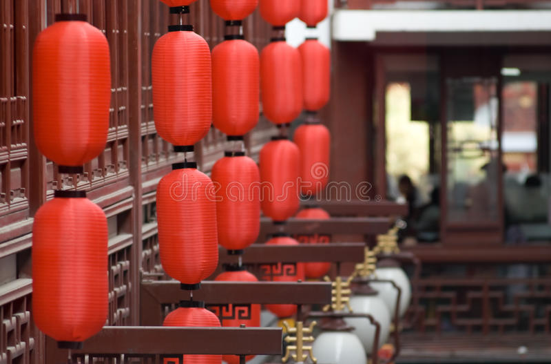 Restaurante chino fotos de archivo