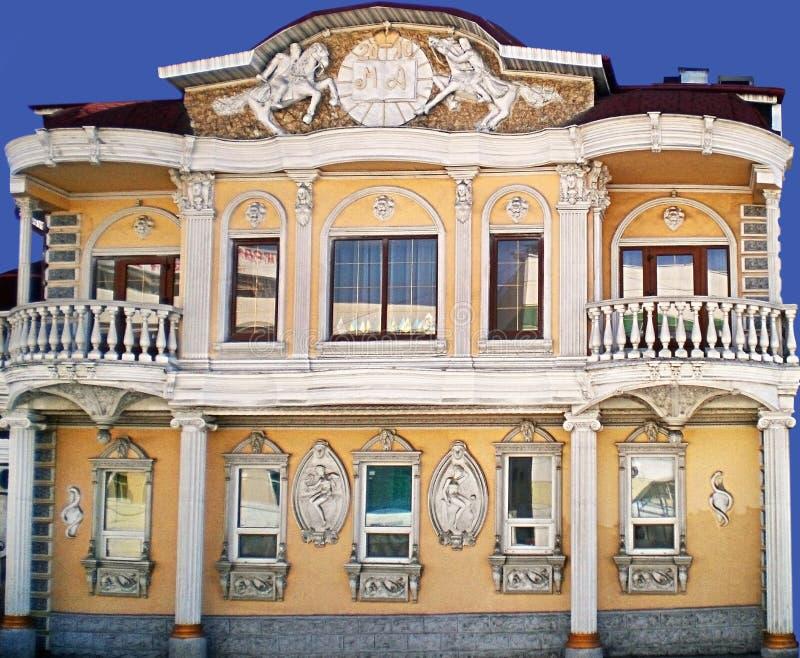 Restaurante Crimea en la ciudad de Melitopol fotografía de archivo