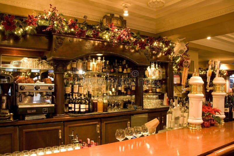 Restaurante da barra do vintage imagens de stock royalty free