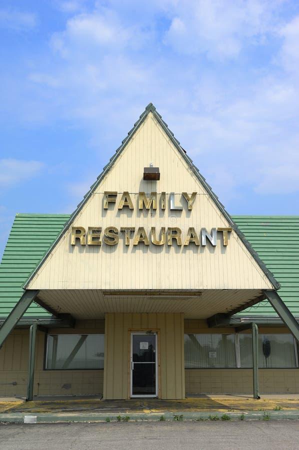 Restaurante da família fotos de stock royalty free