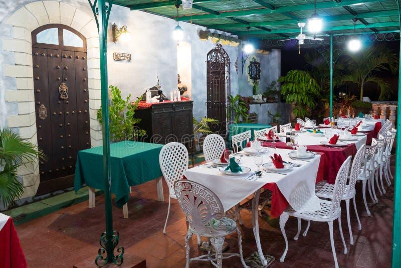 Restaurante de Aldaba del La fotografía de archivo libre de regalías