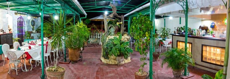 Restaurante de Aldaba del La imagenes de archivo