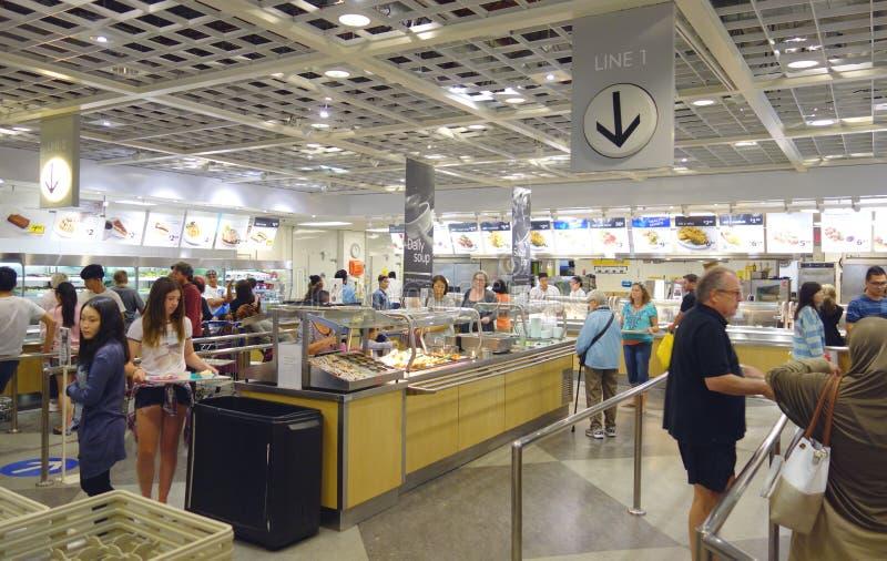 Restaurante de Ikea fotografia de stock royalty free