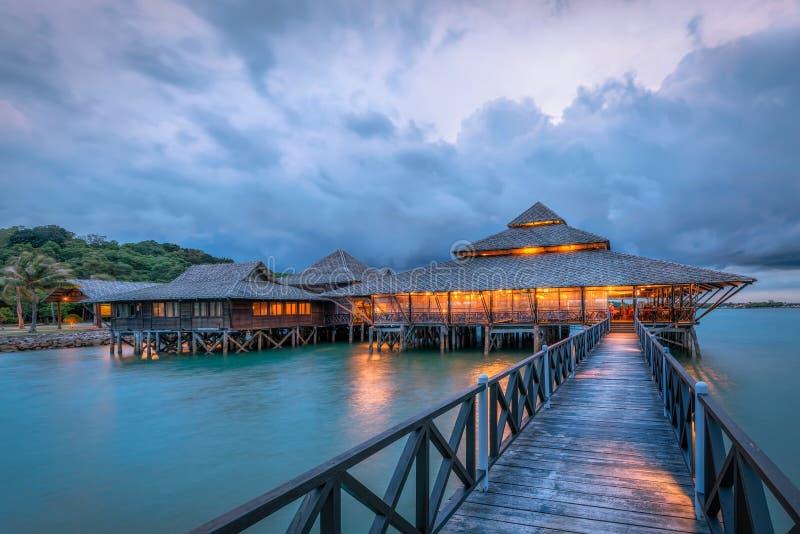 Restaurante de Kelong foto de stock royalty free