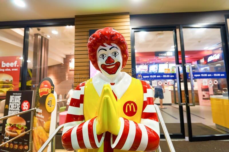 Restaurante de Mcdonald foto de stock royalty free