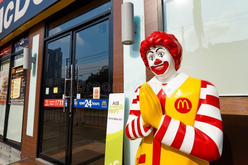 Restaurante de Mcdonald imagem de stock royalty free