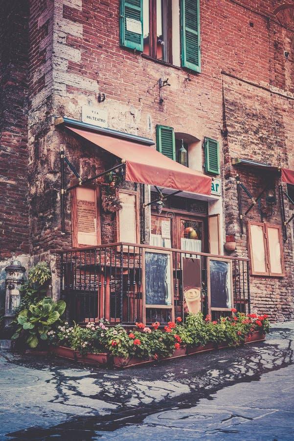 Restaurante de Tuscan foto de stock royalty free