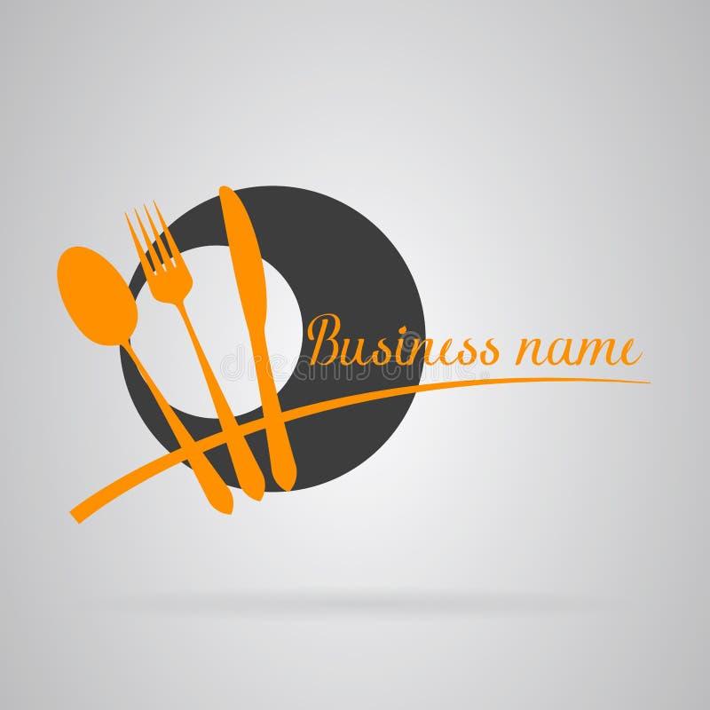 Restaurante del logotipo libre illustration
