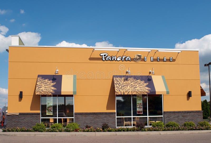 Restaurante del pan de Panera imagen de archivo