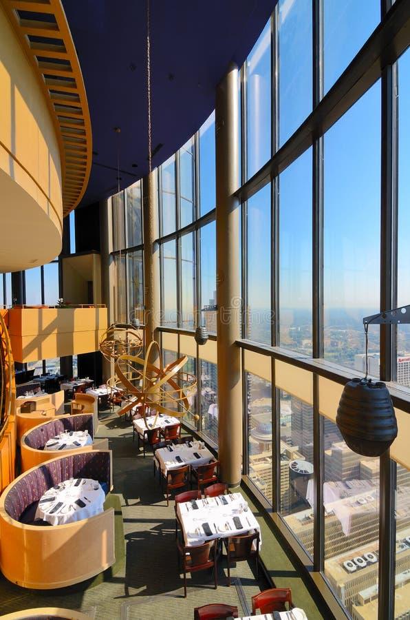 Restaurante del reloj de sol foto de archivo libre de regalías