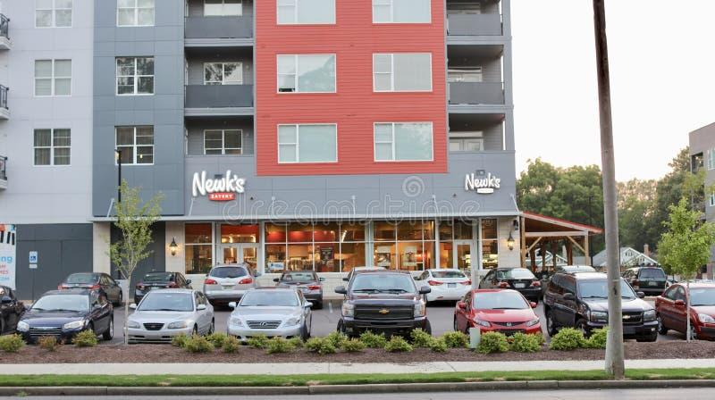 Restaurante del restaurante del ` s de Newk fotos de archivo