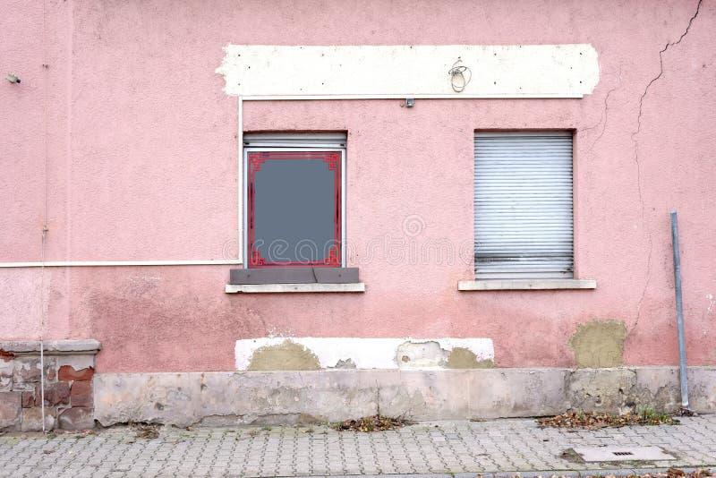Restaurante dilapidado imagen de archivo