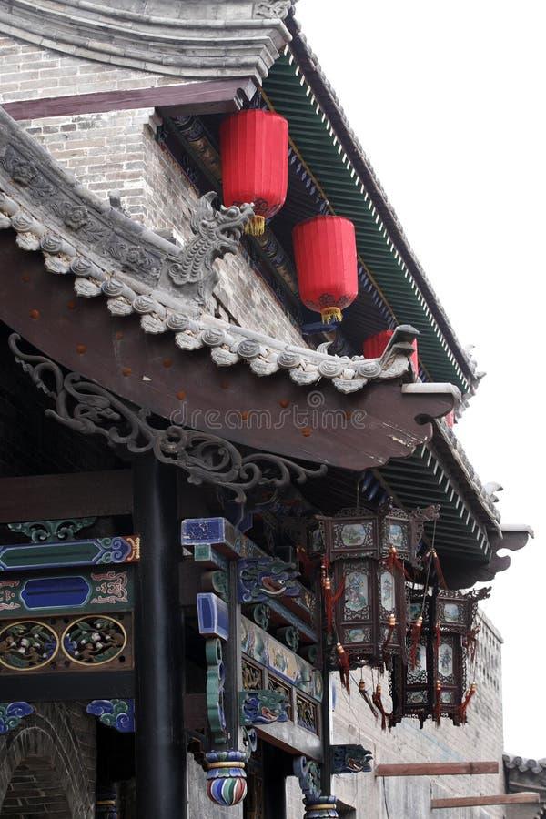 restaurante do Chinês-estilo fotografia de stock royalty free