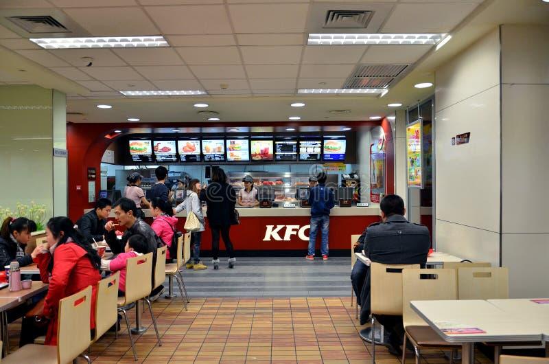 Restaurante do fast food fotografia de stock