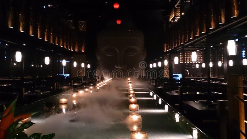 Restaurante do gourmet de Tianshui Yue da cidade de Taiwan Kaohsiung imagem de stock royalty free