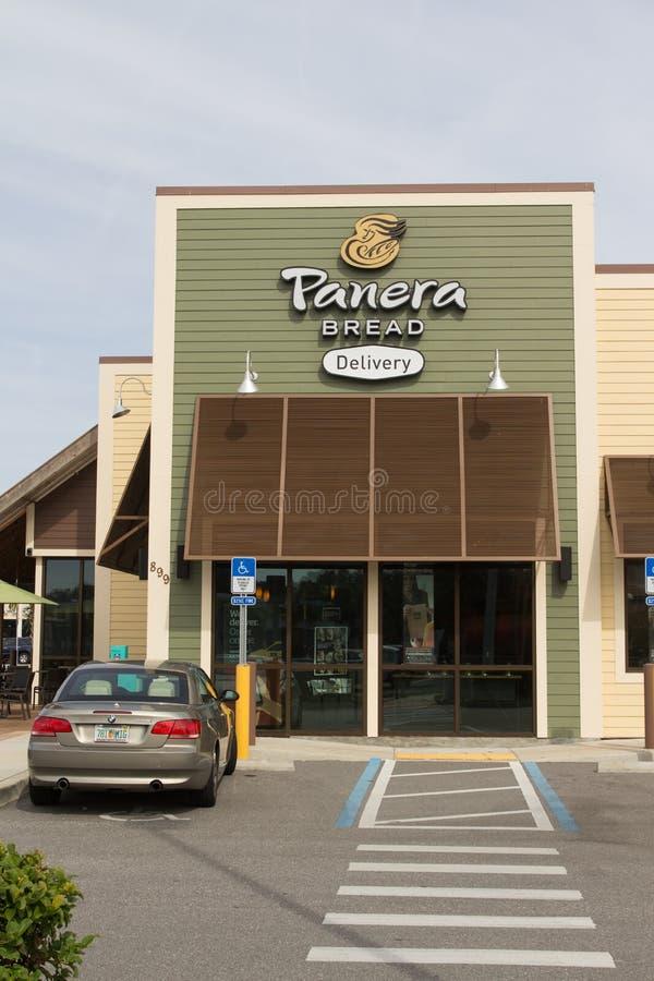 Restaurante do pão de Panera imagem de stock royalty free