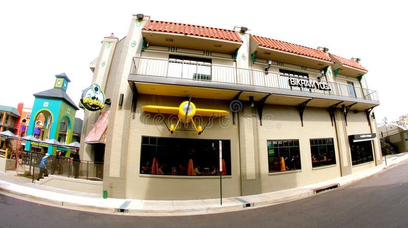 Restaurante dos acres da barriga e restaurantes Memphis do restaurante imagens de stock royalty free