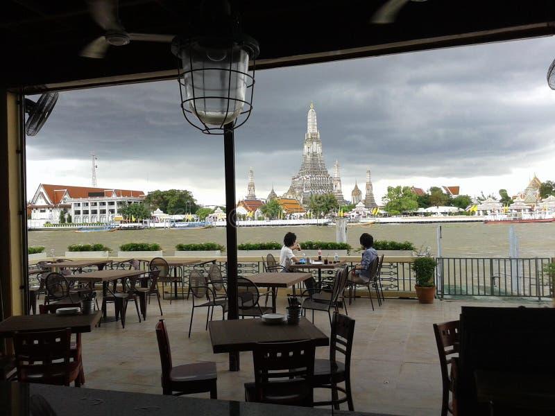 Restaurante em Banguecoque fotos de stock royalty free