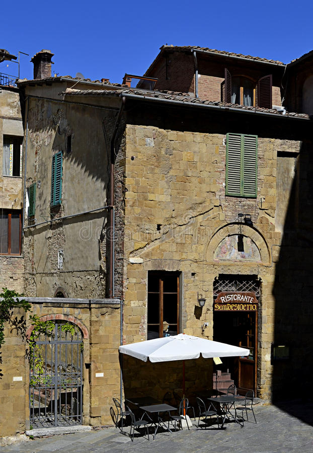 Restaurante en Italia imagenes de archivo