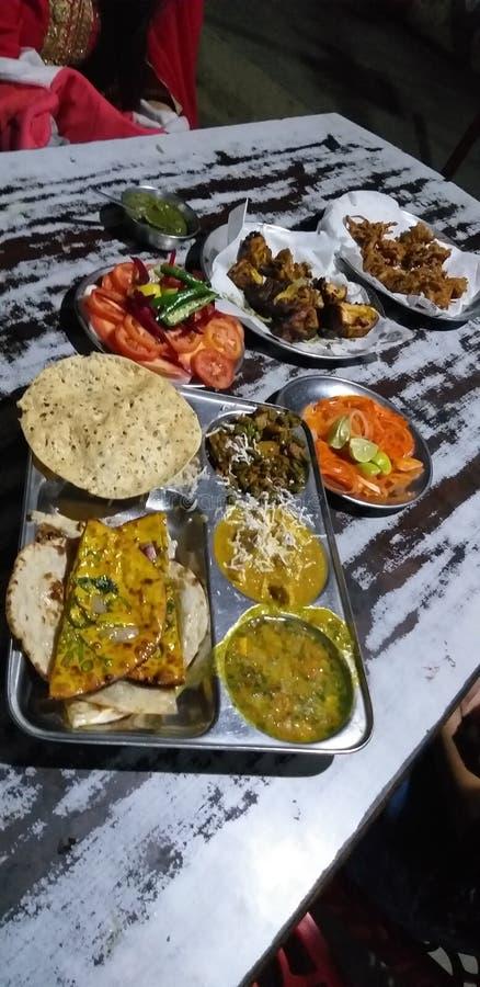 Restaurante en la India fotos de archivo