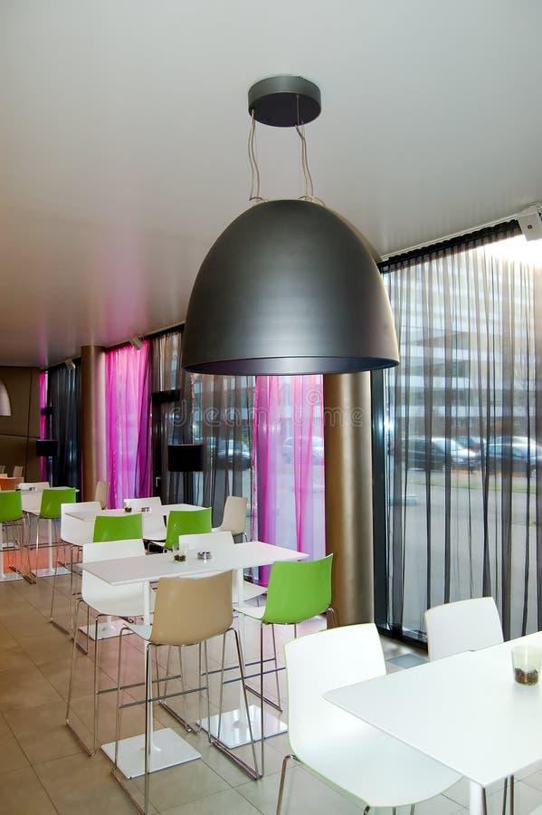 Restaurante extravagante foto de stock royalty free