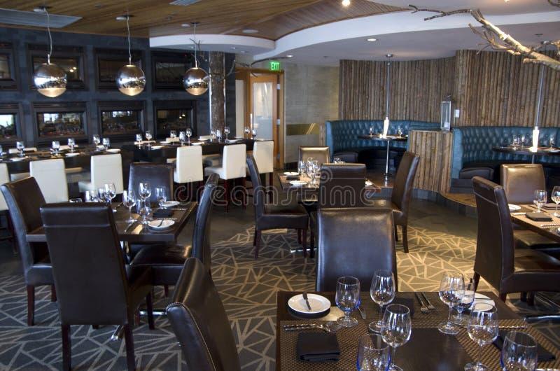 Restaurante extravagante da barra imagem de stock