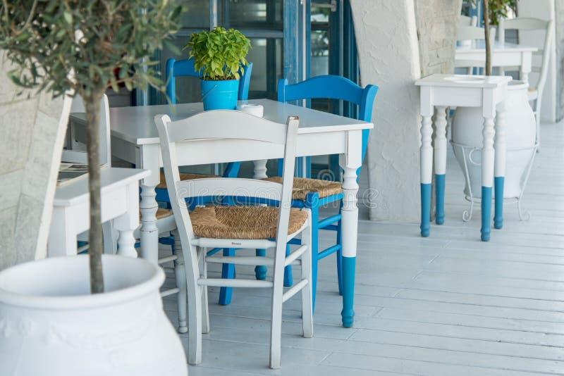 Restaurante grego - exterior fotografia de stock royalty free