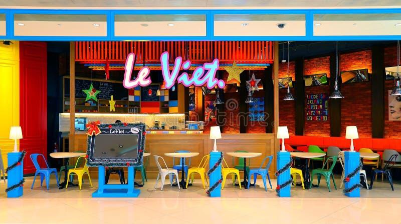 Restaurante Hong-Kong del pincho de Le viet foto de archivo libre de regalías