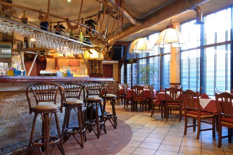 Restaurante italiano fotografia de stock royalty free