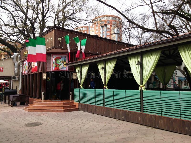 Restaurante italiano imagenes de archivo