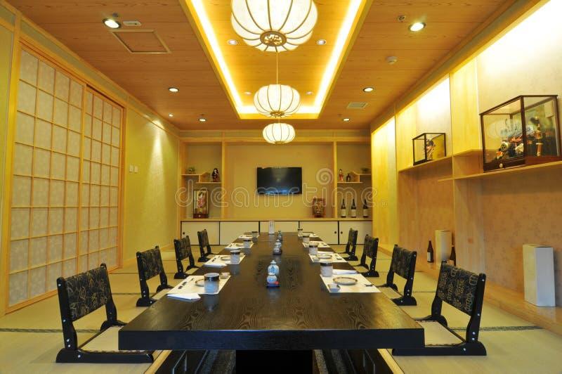 Restaurante japonés fotografía de archivo