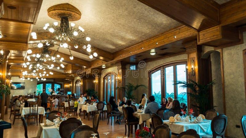 Restaurante Kruje de KROI imagem de stock royalty free