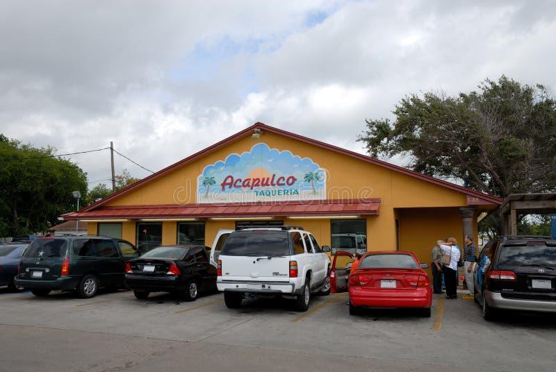 Restaurante mexicano en Tejas fotos de archivo libres de regalías