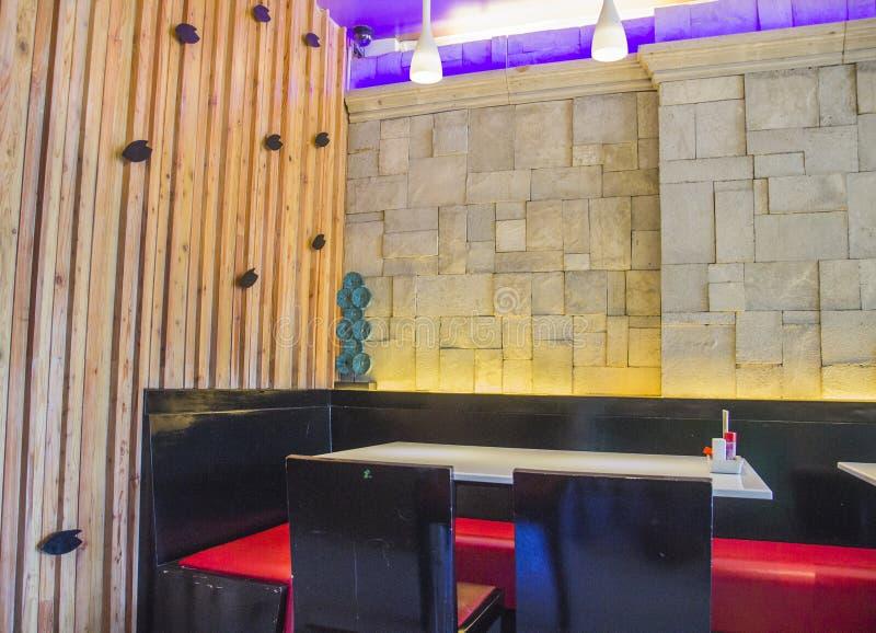 Download Restaurante moderno foto de archivo. Imagen de madera - 42437616