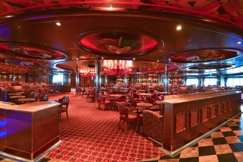 Restaurante moderno y con estilo imagen de archivo