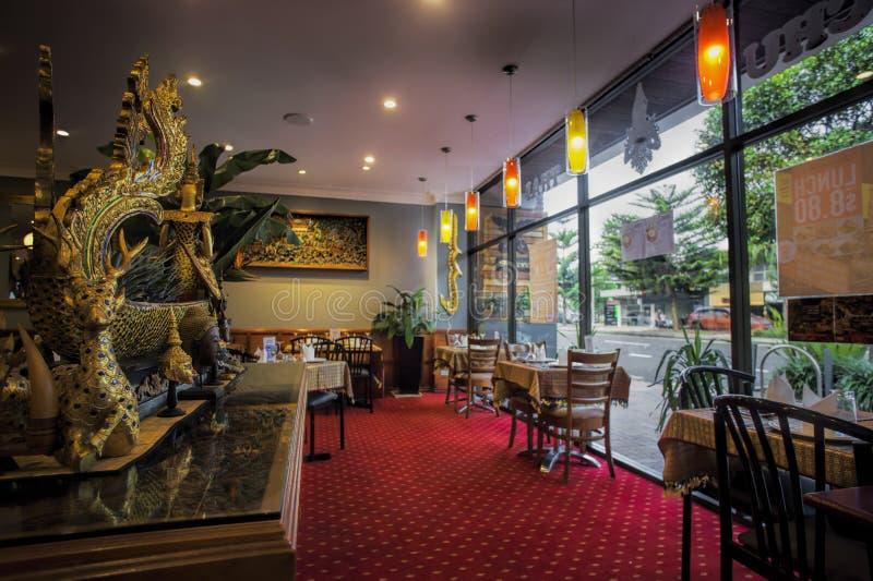 Restaurante tailandés imagenes de archivo