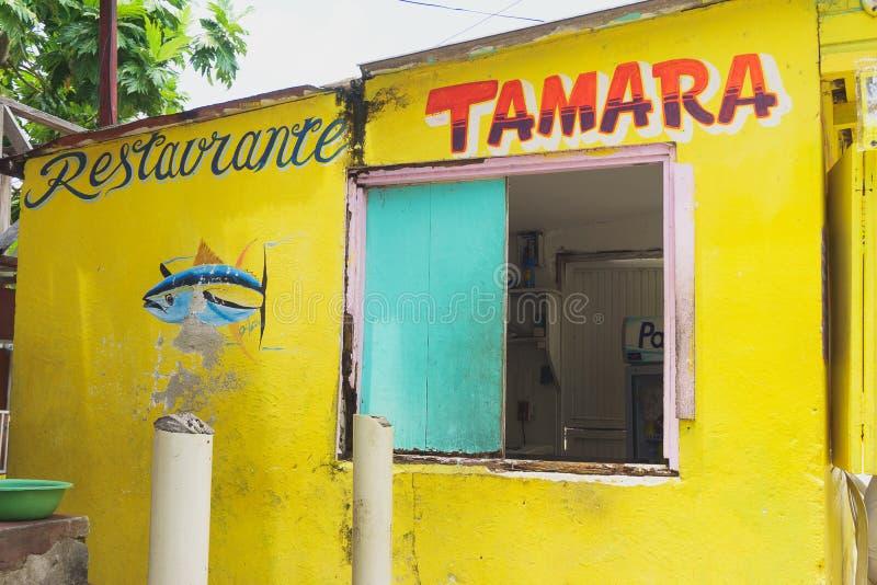 Restaurante Tamara, San Andrés photos stock