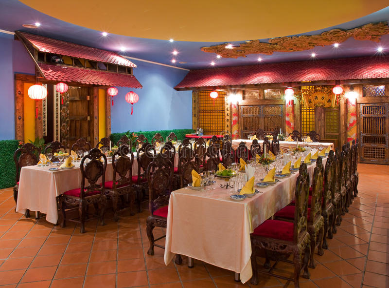 Restaurante vietnamita imagenes de archivo