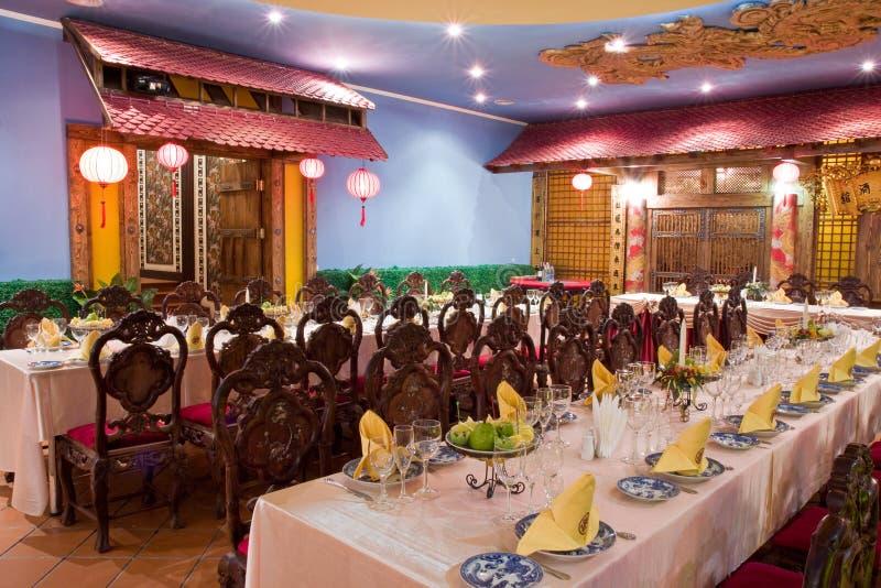 Restaurante vietnamita fotografía de archivo