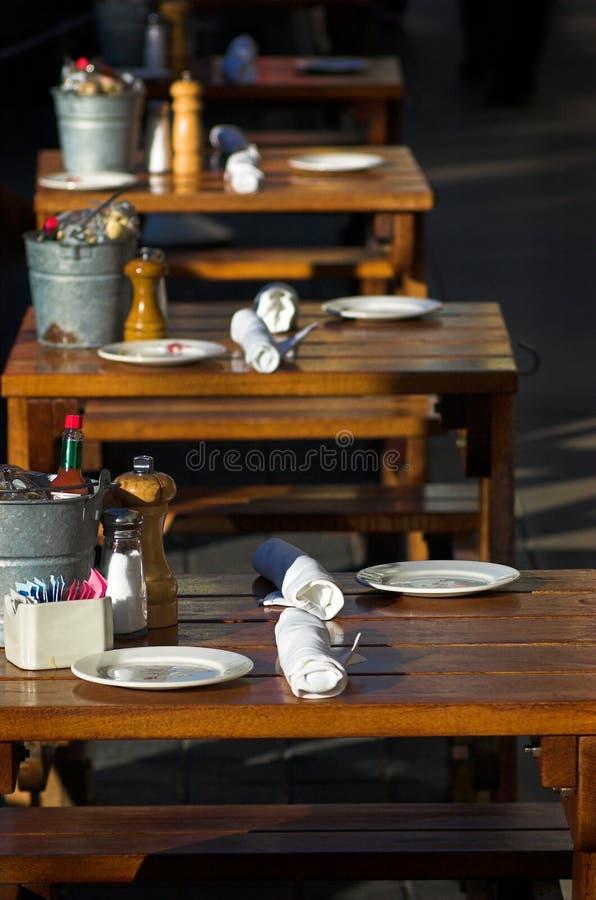 Restaurantes imagens de stock