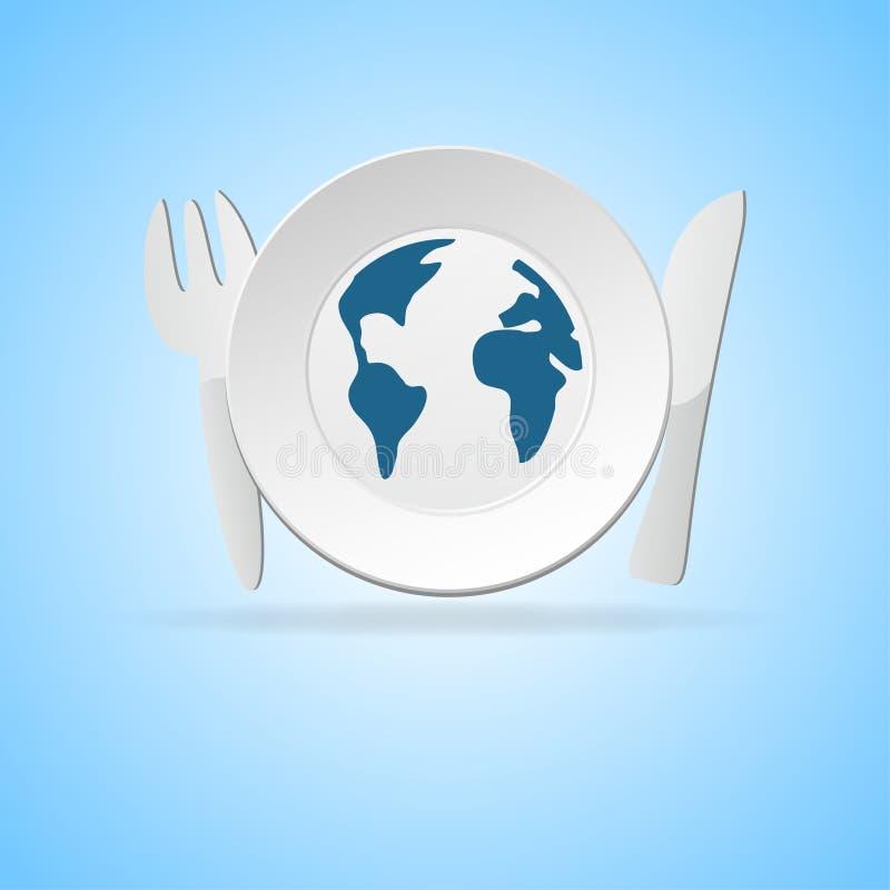 Download Restaurants stock illustration. Image of flatware, knife - 17297842