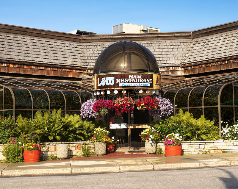 Restaurants bars cafes jasper canada editorial photography