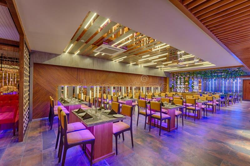 Restaurantthema stockbild