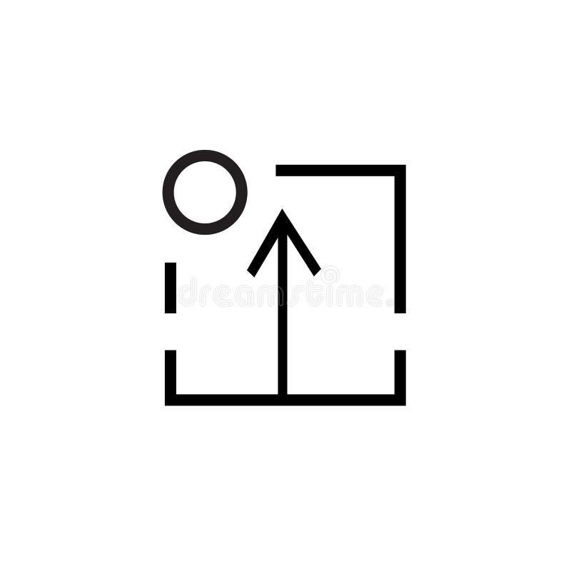 Restaure la muestra del vector del icono y el símbolo aislado en el fondo blanco, restaura concepto del logotipo ilustración del vector