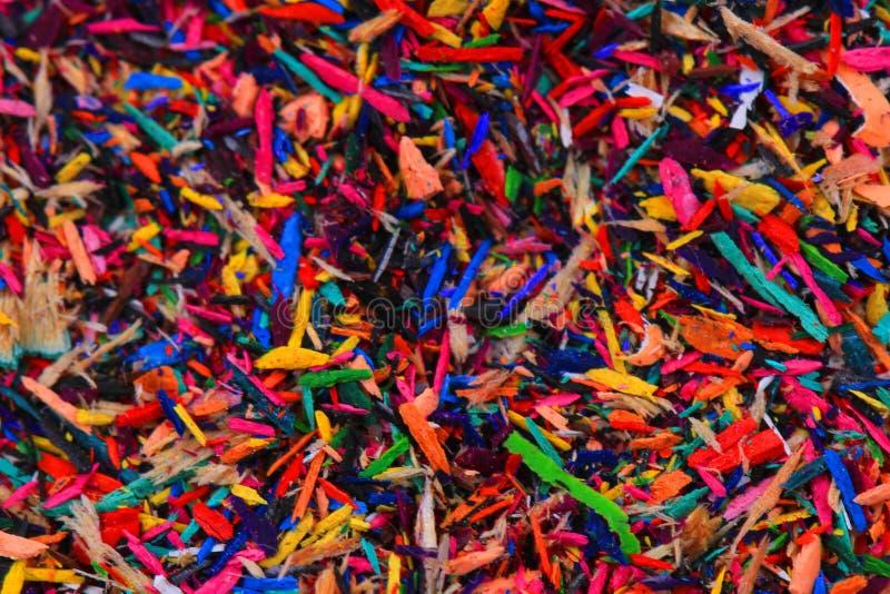 reste de crayons de couleur images libres de droits