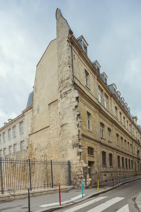 Reste der Wand Königs Philip II lizenzfreie stockbilder