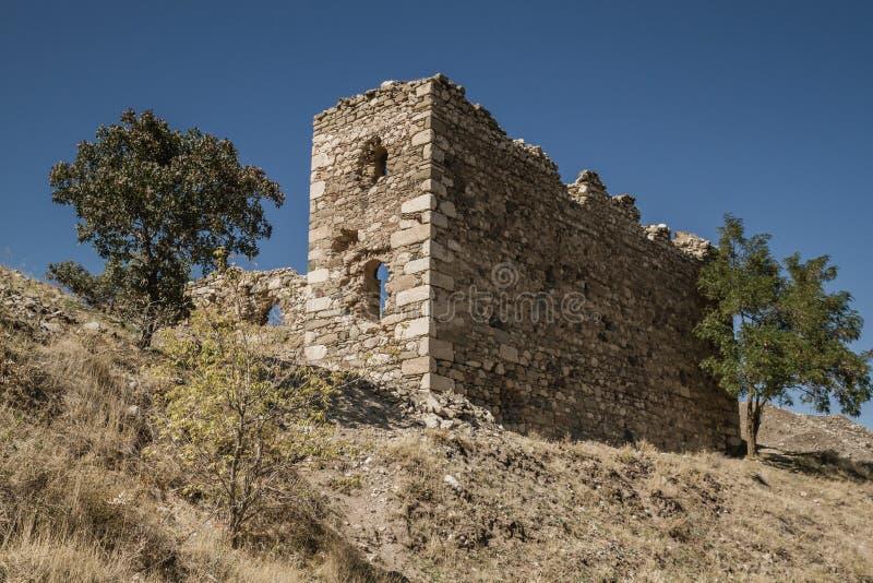 Reste près du château historique de Harput dans Elazig, Turquie images libres de droits