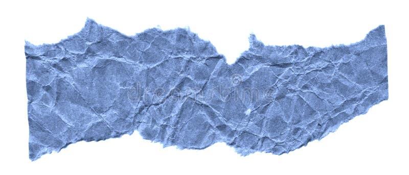 Rester av papper på en vit bakgrund Isolerat på vit Klar ram för designen, mall royaltyfria foton