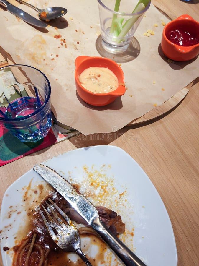 Rester mat fotografering för bildbyråer